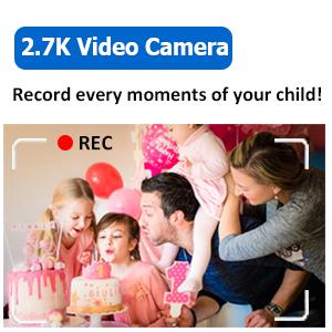 FULL HD 2.7K VIDEO CAMERA