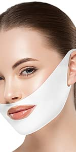 V-Line Chin lifting Mask-White