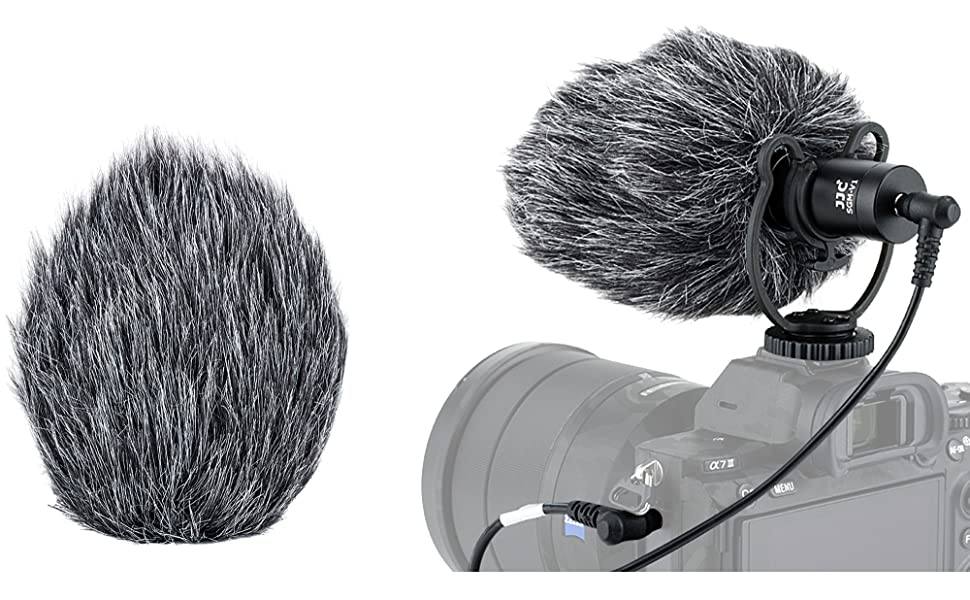 JJC SGM-V1 Cardioid Shotgun Microphon