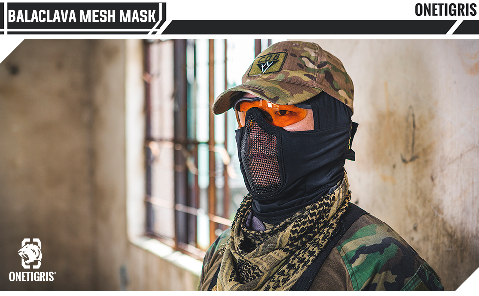balaclava mesh mask