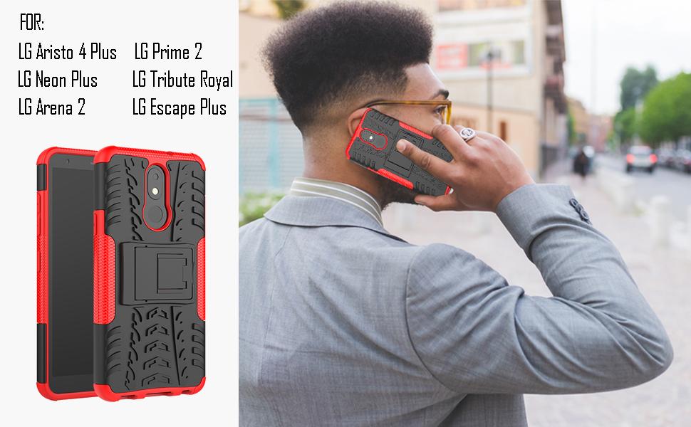 LG Aristo 4 Plus case