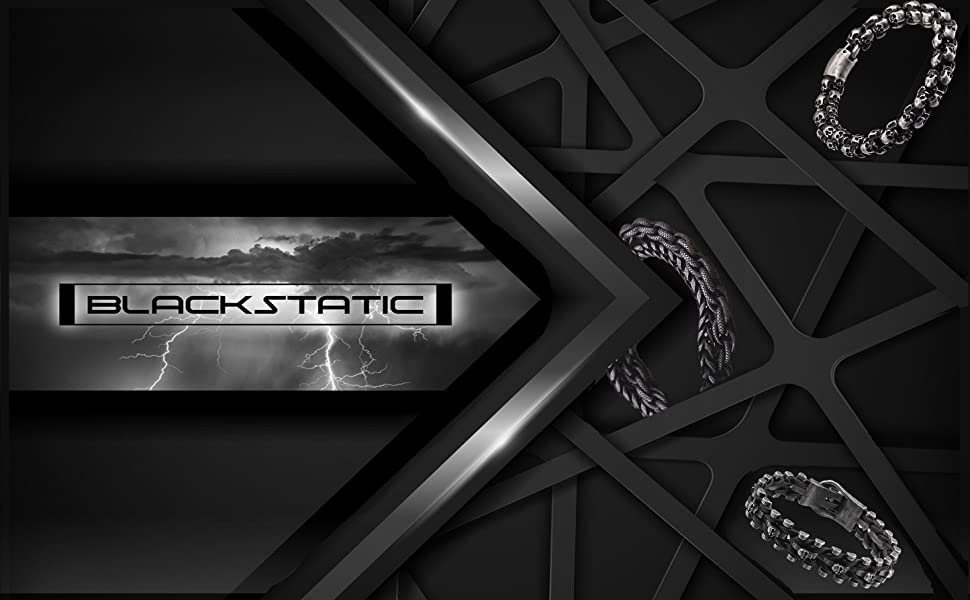 blackstatic upscale wristgear for men