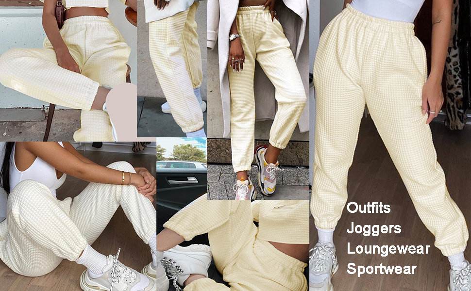 joggers for women winter pants pajama pants loungewear outfit tracksuits running pants