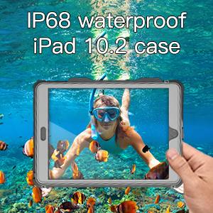 waterproof case for ipad 7 10.2 inch