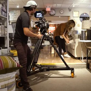 PROAIM Anchor Heavy-duty Studio Camera Tripod Dolly
