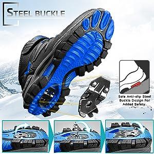 non slip steel buckle