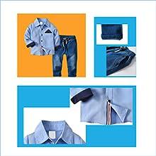 Toddler Boy Clothes Set Long Sleeve Shirts+Bow Tie+Suspender Pants 2pcs Outfit Suit Set