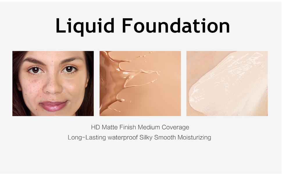 matte finish foundation