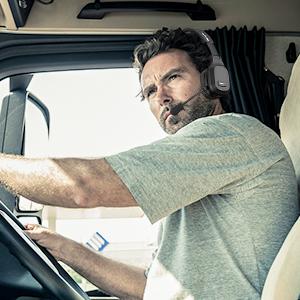 Freisprech-Headset für PKW-Fahrer