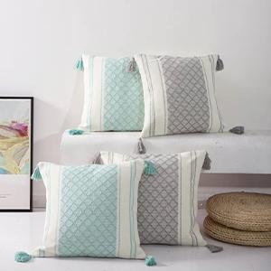 boho aesthetic bohemian comfortable rustic chic fundas para cojines decorativos minimalist clearance
