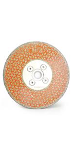 "BGTEC Diamond Grinding Cutting Disc for Granite Marble,5"" x 5/8""-11"