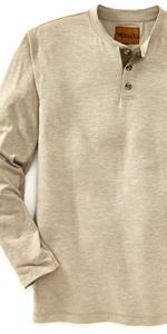 Mens Henley Shirt Flex Venado Deer Whitetails