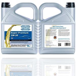 Leprinxol Super Premium 5w 30 Motoröl 5 Liter 1 Liter Auto