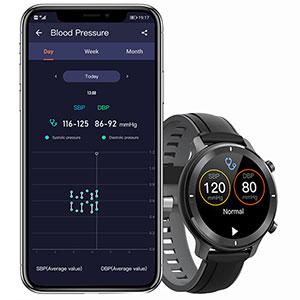 smartwatch with blood pressure