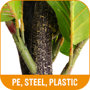 a large Ficus / Fig Leaf artificial plants indoor selection we can help you with matching greenery