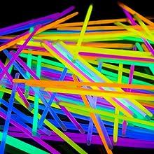 glow sticks party favors supplies in the dark bulk adultes enfants néon rave accessoires colliers pack