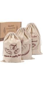 linen bread bags Koaland