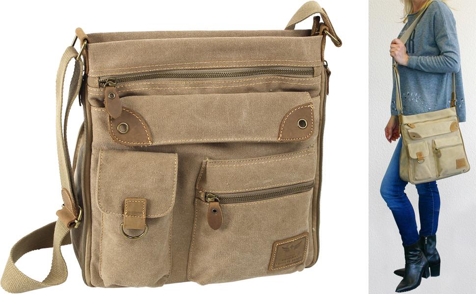 Jennifer Jones Damen Umhängetasche Tasche mehrfarbig Kunstleder 35x33x17 OTJ143X