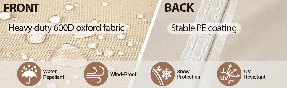 Ohuhu waterproof furniture cover