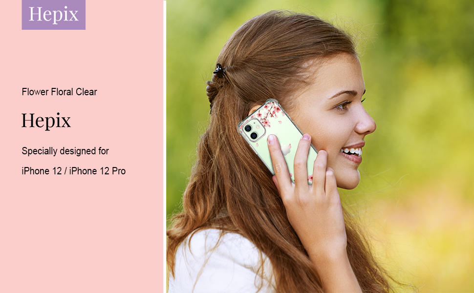 hepix iphone 12 pro case cherry blossom