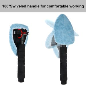 180° swiveling for comfort while working
