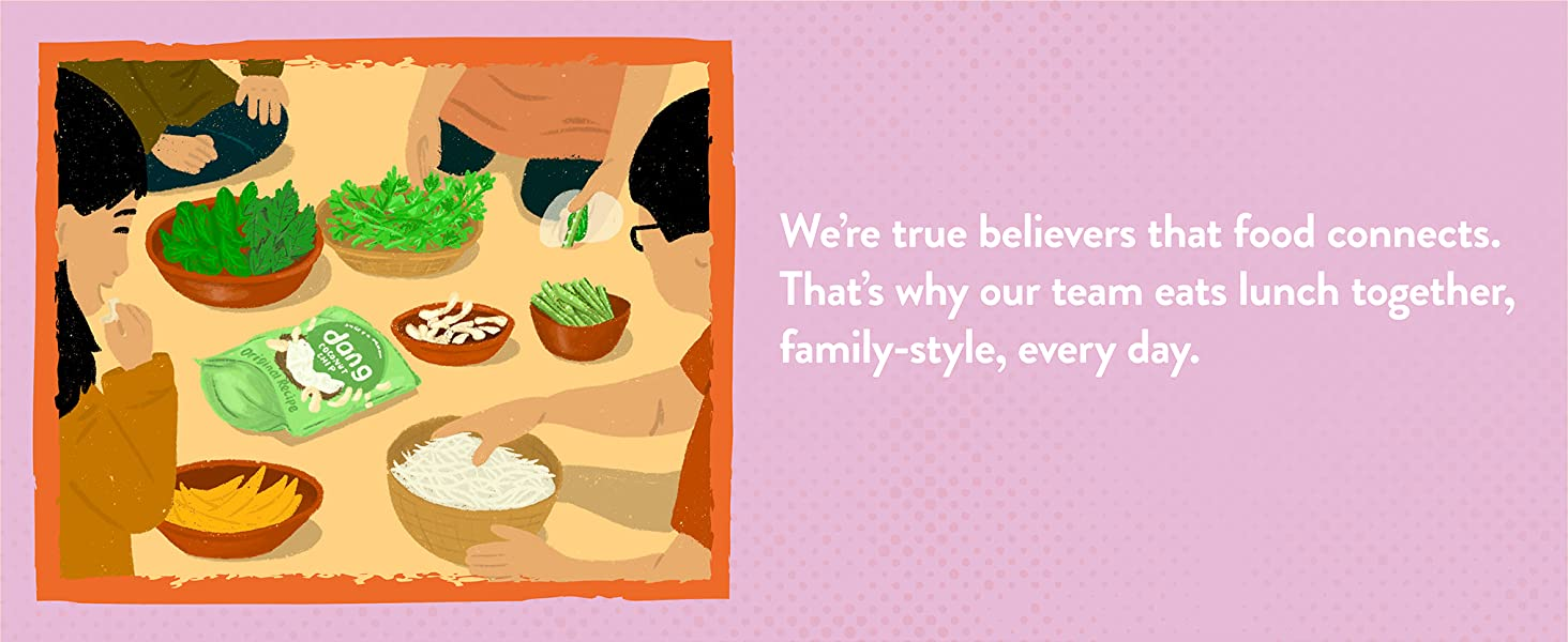 We're true believers that food connects.
