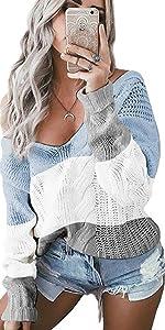 maglione donna oversize pullover felpa scollo a v invernale maglioni manica lunga sweatshirt
