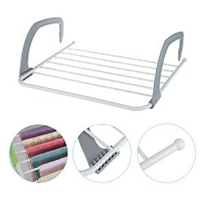 door window cloth clothing rack stand hanger organizer