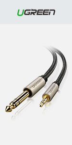 Câble Jack 3.5mm 6.35mm