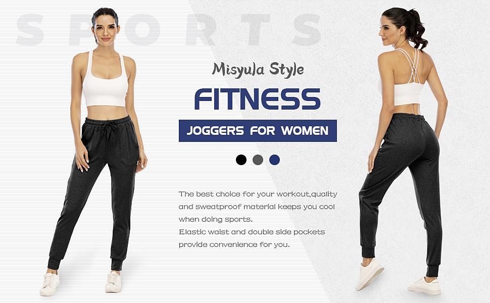 Misyula Style Jogger pants for women