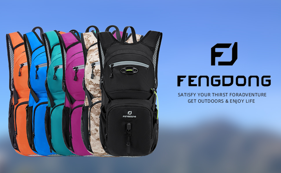 FENGDONG Hydration Backpack