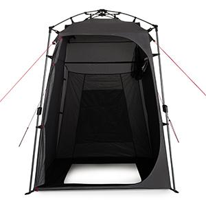 Qeedo Quick Shower Cabin, Tienda de Ducha y caseta de Camping, Cabina de Ducha (Opaca), 2 m de Altura