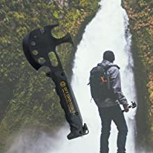 survival axe lifestyle image off grid tools