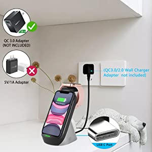wireless charger 3 in 1