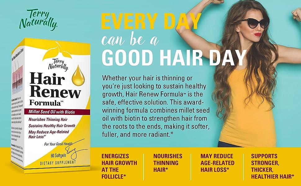 thin hair, hair growth, hair loss, thinning hair, follicle, thicker hair, healthy hair, renew hair