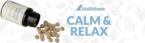 Calm & Relax - Pastillas calmante para perros