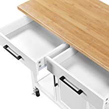 wide drawer