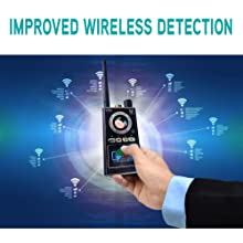 IMPROVED bug detector, camera spy, spy camera detector, k99 ,k88,miyori indi,foxbite,easy to find.