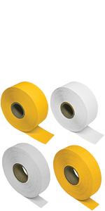 Rolls of foil tape
