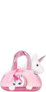 seitenansicht, brubaker, rosa einhorn, unicorn, pink unicorn, kuscheltier