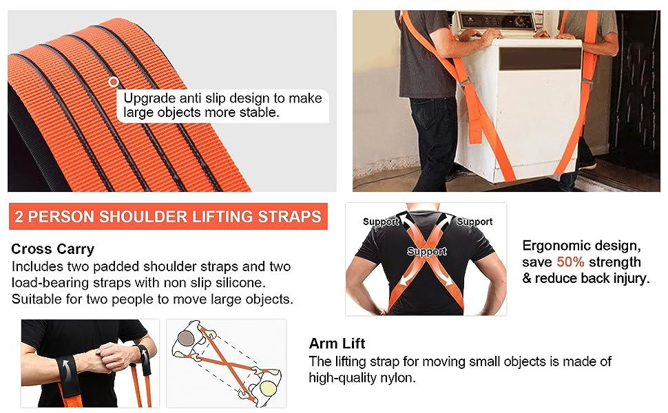 Moving Straps Lifting System Kit
