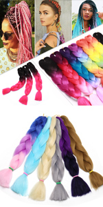 Jumbo Braid Crochet Hair