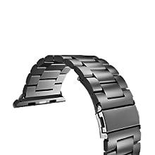 Bracelet de remplacement en acier inoxydable pour Apple Watch