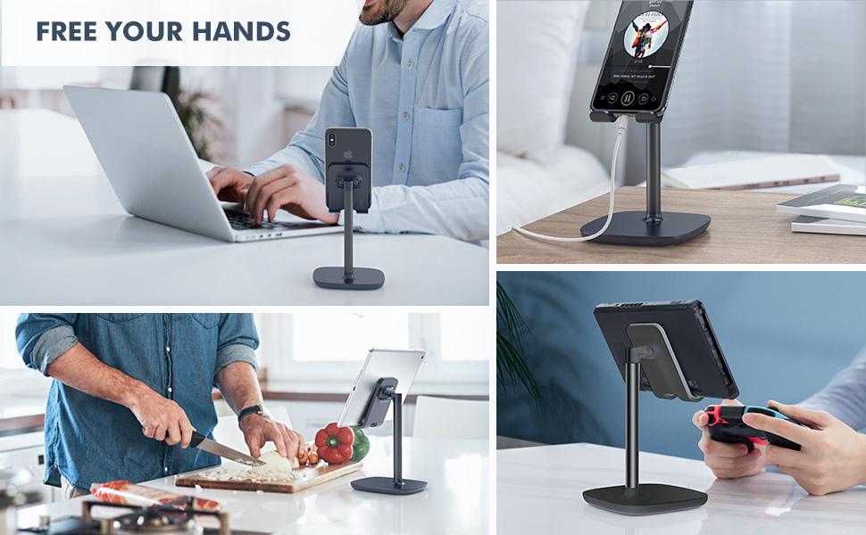 Phone Stand Desk Mount Holder