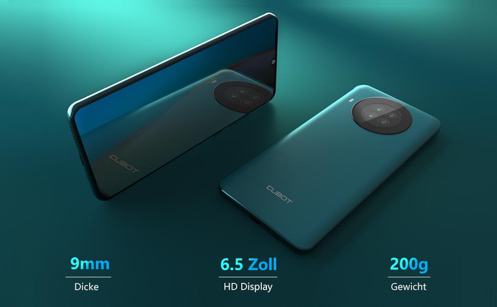 Smartphone 6,5 zoll