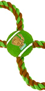 Groot Rope Toy