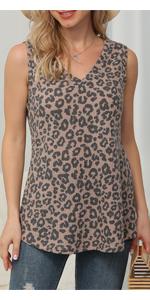 IWOLLENCE Womens Waffle Knit Tunic Blouse Casual Tops