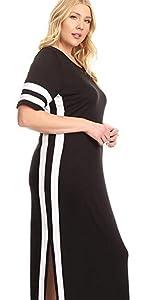 maxi dress, athletic dress