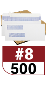 No.8 Double Window Bussiness Envelopes