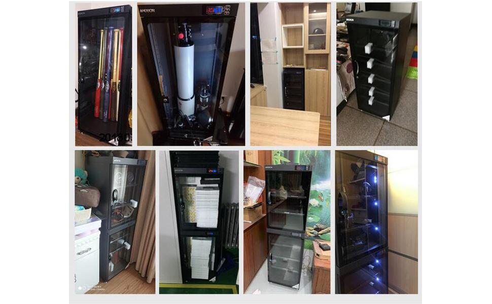 Camera Dehumidify Storage